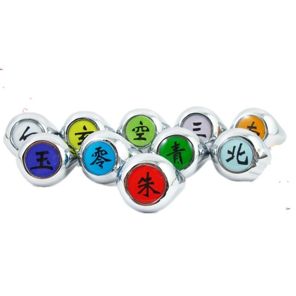 uchihasasuke, akatsuki, Cosplay, 925 silver rings