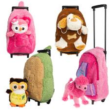 Stuffed Animal, carryon, Toy, withwheel