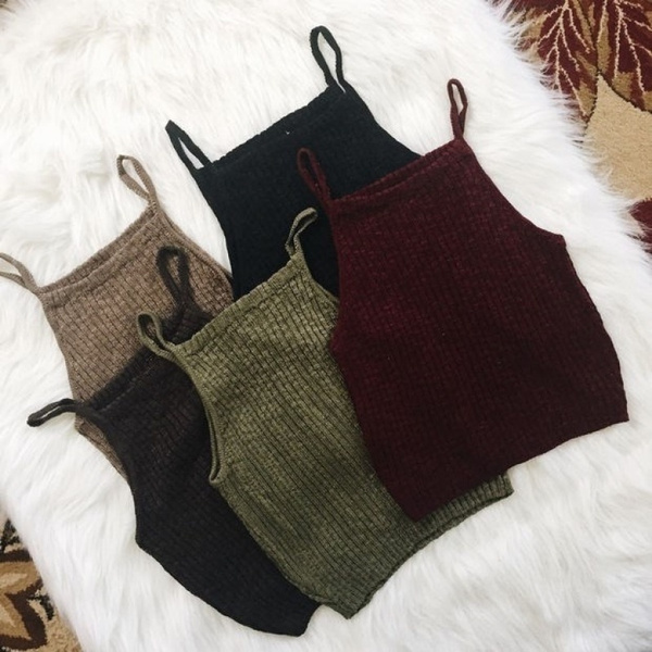 skinnysexycroptop, crop top, Halter, slimcasualcroptop