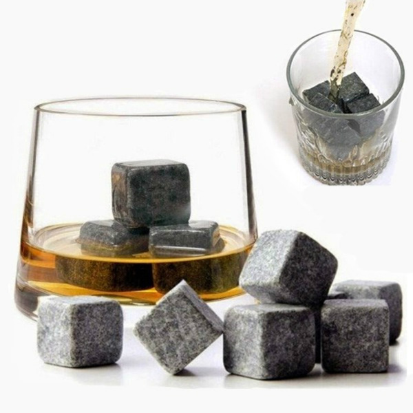Stone, champagne, whiskyrock, icestone