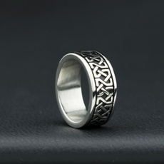 Steel, engravingring, Fashion, Stainless Steel