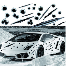 Car Sticker, Bullet, Funny, Cars