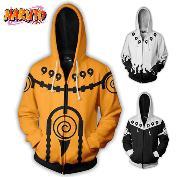 hooded, unisex clothing, Naruto, Cosplay Costume