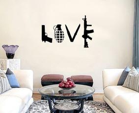 wallstickersampmural, art, wallstickerforbadroom, Stickers