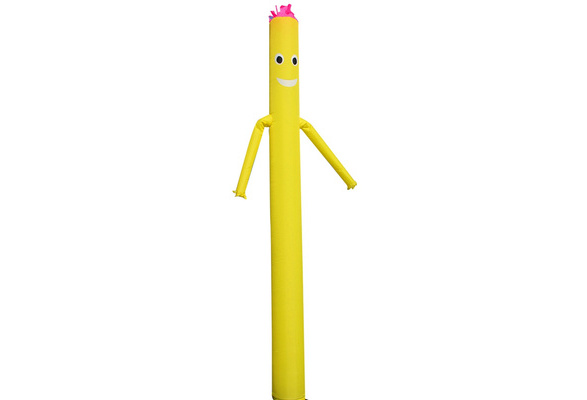 yqaae kein Gebl/äse Color : A, Size : 4m//13.1ft Sky Air Puppet Dancer 6 Meter Magic Castle Inflatable Sign Arm Tanzen Tube Wacky Fliegender Mann for Werbung