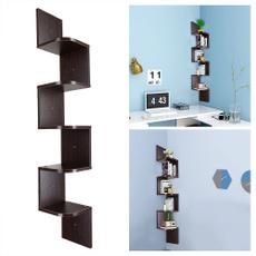 Wall Mount, Office, Wooden, Shelf