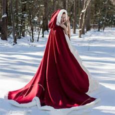 Cosplay, Christmas, cloak, Hood