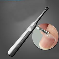 nailpusherremover, manicure tool, cuticlepusherremover, Stainless Steel Tools