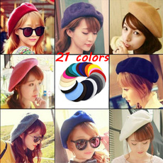 Beanie, Fashion, women hats, beretcap