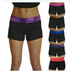 joggingshort, elastic waist, Yoga, candy color