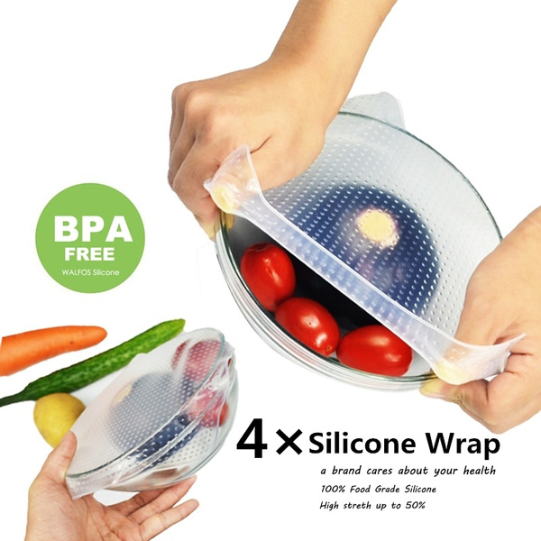 siliconefoodwrap, Silicone, foodfreshkeepingwrap, Seal