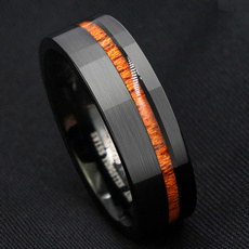 Couple Rings, 8MM, wedding ring, Stainless steel ring