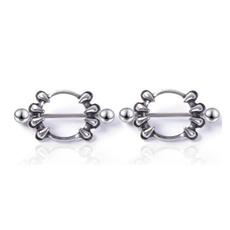 Steel, nipplepiercing, Stainless Steel, Jewelry