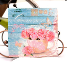 Colorful, kleenex, decoupage, Print