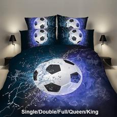 queensizebeddingset, Soccer, footballbeddingset, King