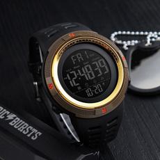 dualtimedisplay, Fashion, Waterproof, wristwatch