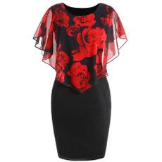 Rose, Dress, slim, New