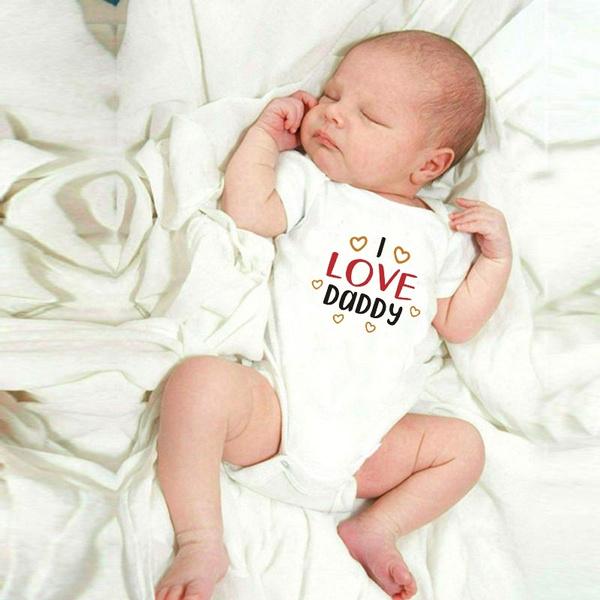 ilovedaddyonesie, cute, babyromperjumpsuit, Shorts