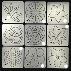 stencil, embroiderytemplate, pressurelinetemplate, Durable