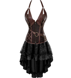 sexycorsetsandbustier, Fashion, halterneckcorset, Dress