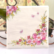 Shower, tablemat, Flowers, Colorful
