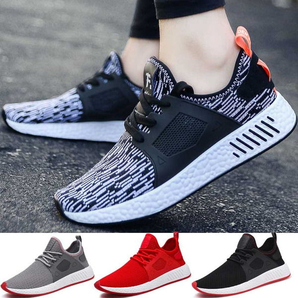 Cool breathable running shoes men