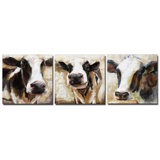 Head, art, cowcattle, Cowgirl