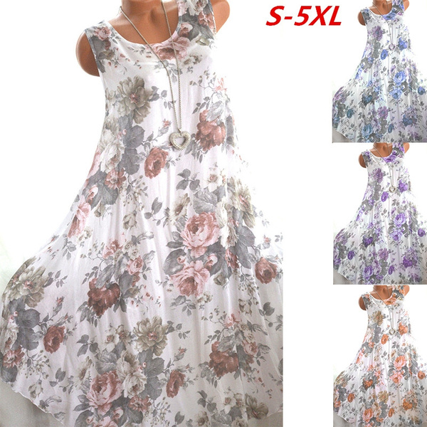 Summer, Fashion, Floral print, Ladies Fashion