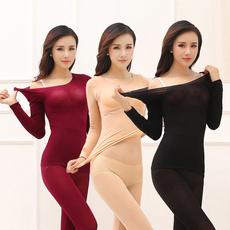 underwearset, Underwear, Long sleeved, ultra thin