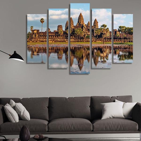 art print, canvasangkorwattemple, art, Home Decor