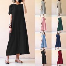 Summer, short sleeve dress, women39sfashion, Sleeve