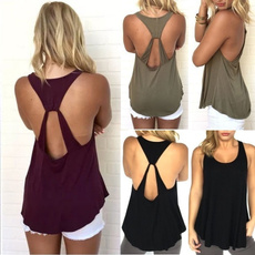 Summer, Vest, Fashion, Tank