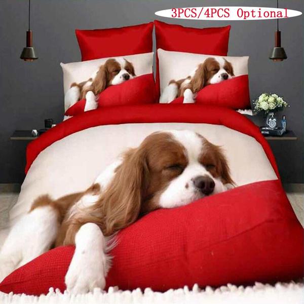 lovely, bedclothe, bedquiltcoverset, Pets