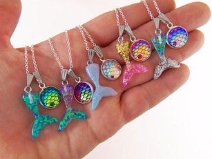 Gifts For Her, mermaidnecklace, Jewelry, women necklace