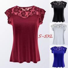 blouse, Summer, Plus Size, Lace