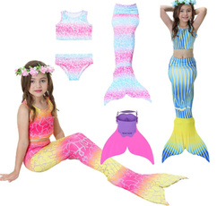 4pcsset, Fashion, swimmablemermaidtail, swimmabletail