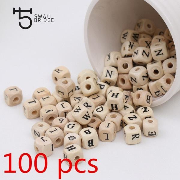 braceletbeadsletter, letterbeadssquare, alphabetbeadsforbracelet, letterbeadswood