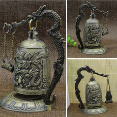 Collectibles, Decor, Office, dragonclockdecoration