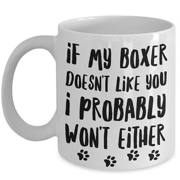 boxermom, boxerdogcoffeemug, boxermug, Pets