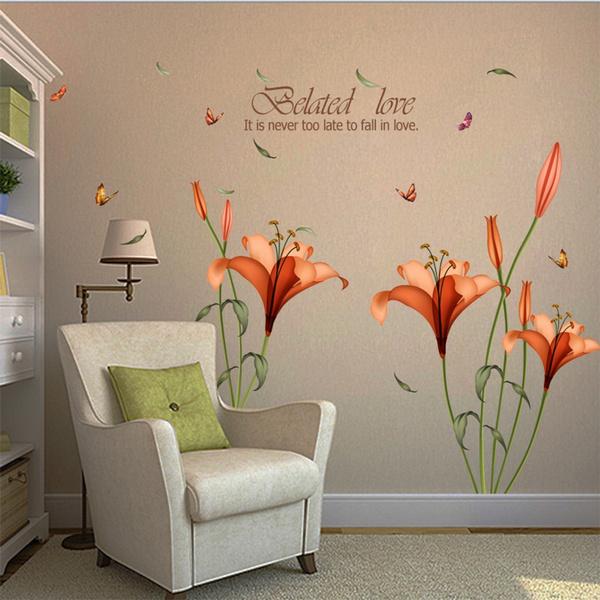 pink, butterfly, Bathroom, Flowers
