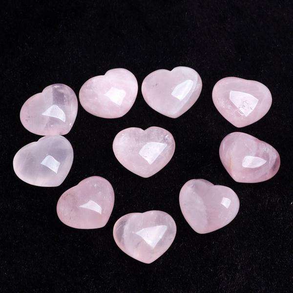 pink, Heart, pinkrosecrystal, Love