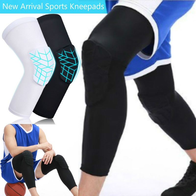 uunumi Basketball Knee Pads,1 Pair Youth Adult Volleyball Wrestling Kneepad Non-Slip Compression Leg Sleeve Protector Gear