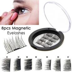 Eyelashes, eye, Extension, magnetic3deyelashe