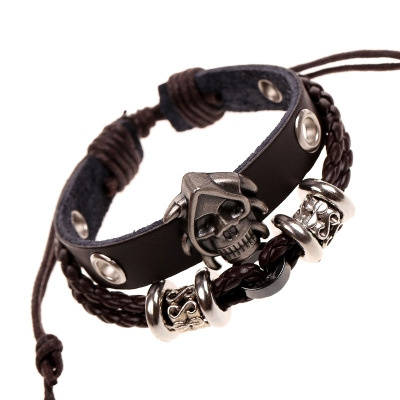 infinity bracelet, Fashion, Jewelry, skull