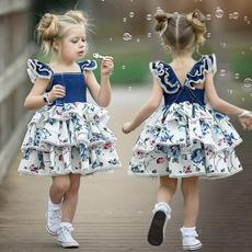 cute, Fashion, ruffle, Summer