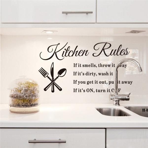 art, Home Decor, Stickers, kitchenwallsticker