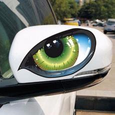 cardecor, eye, creativedecal, reflectivesticker