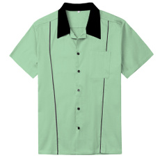 Fashion, rockabillyshirt, Shirt, mensshirtscasual