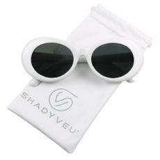 retro sunglasses, Fashion, cloutgoggle, white sunglasses