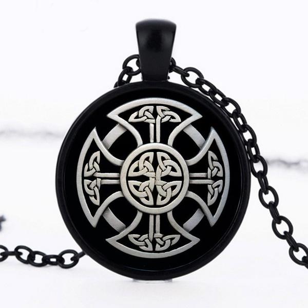 Celtic, alloypendant, celt, Glass